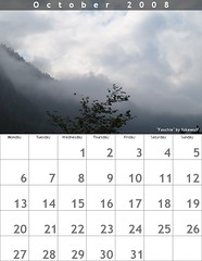 Il mio calendario del mese