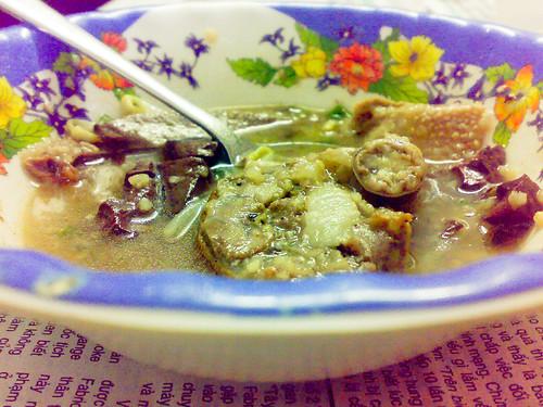 Cháo lòng - Rice soup 2