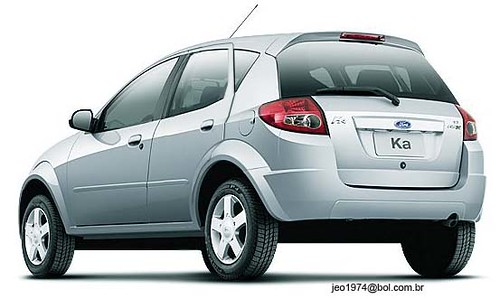Ford Ka  Portas Ou  Portas Esse Provavelmente Entra Em Producao