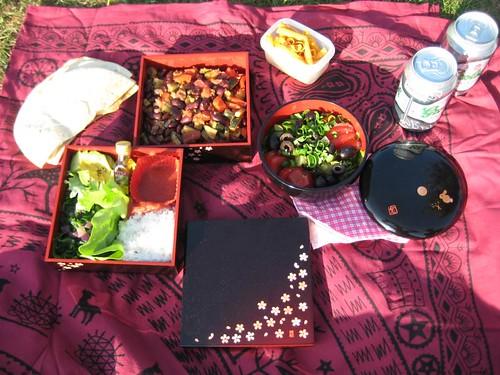 Mexican Dinner (Picnic) Bento, 02-06-2011