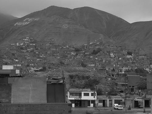 Barrios en los cerros de San Martín de Porres