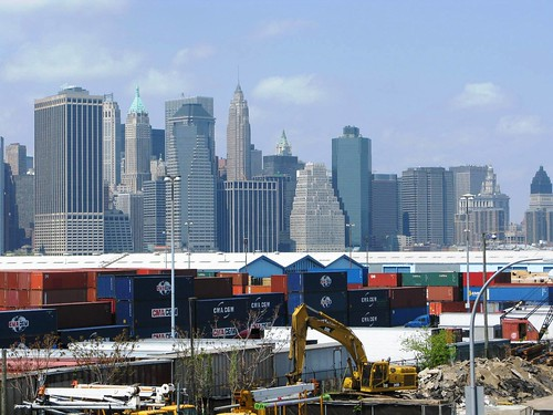 Lower Manhattan From Red Hook