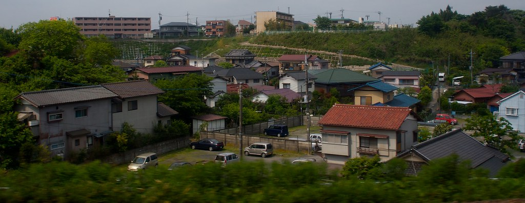 Vista desde el NE´X yendo hacia Tokyo