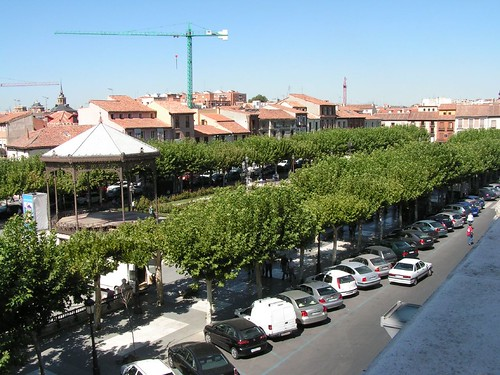 La Plaza de Cervantes