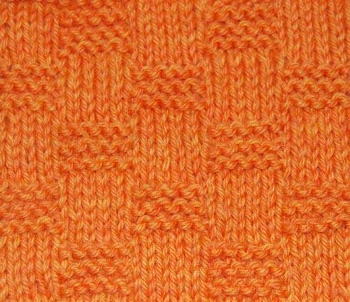 Garter Block Stitch