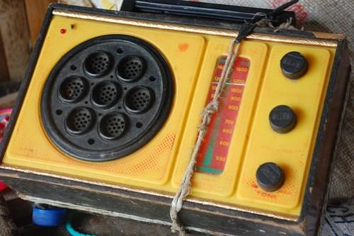 Old Radio in Sabtang Island