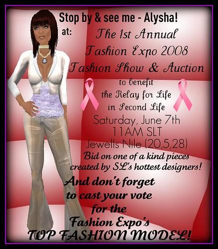 Fashion Expo Model