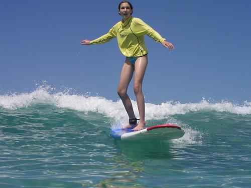 Surfing, Hawaii.