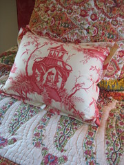 Paisley and toile