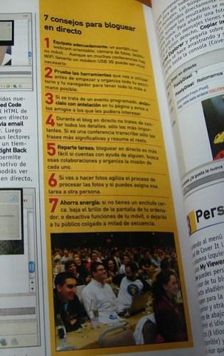 En la Revista Personal Computer & Internet de Noviembre 2008