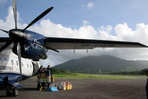 Dornier airplane at Batanes Airport