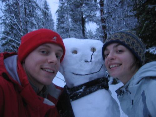 In Lapland, Finland.