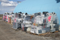 E-Waste ready for shipping