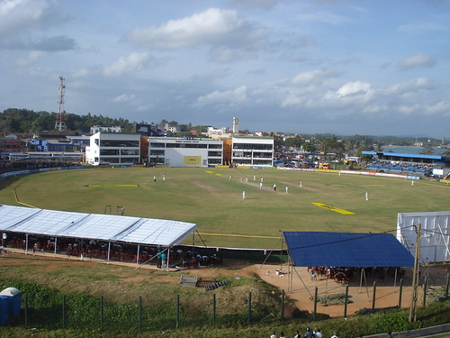 View of the Ground from the Galle Fort
