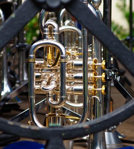 Tiverton Brass Band - Trumpet - Through Railings