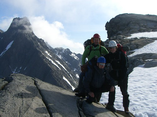 Toppen av Søre Austbotntind