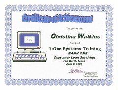 060899BO1ToOneSystemsTrainingCert1