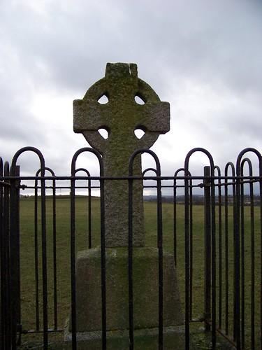 Celtic Cross on HIll of Tara