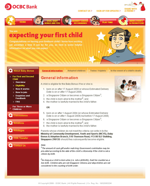 OCBC Mighty Savers - Article Page