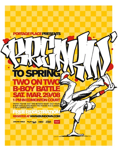 Breakin' to Spring 2-on-2 B-Boy Battle