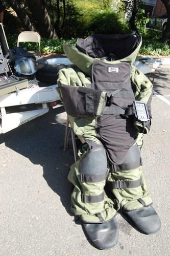 Bomb Squad Armor