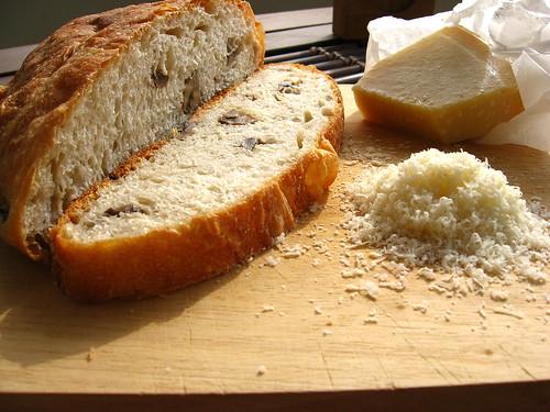 Italian Bread with Mushroom