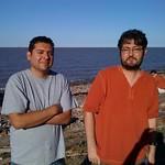 "Eddie and Jorge <a style=""margin-left:10px; font-size:0.8em;"" href=""http://www.flickr.com/photos/36521966868@N01/2441105493/"" target=""_blank"">@flickr</a>"