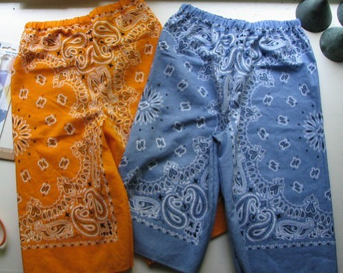 More bandana pants