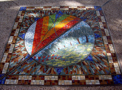 Kite Flying Mosaic