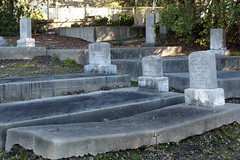 Graves at Old Holy Cross Cemetery