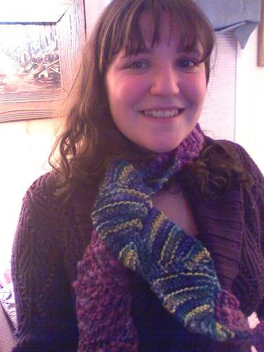 Liz with scarf 2