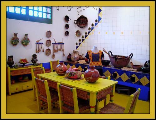 Fridao Kahlo's kitchen, courtesy proggirl's Flickr