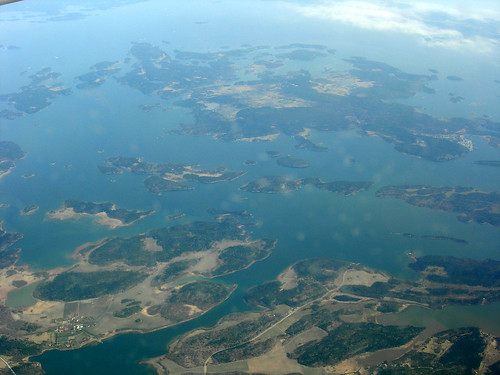Stockholm Archipelago from the Air 1