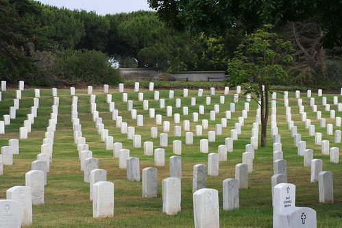 Fort Rosecrans National Cemetery in San Diego, CA