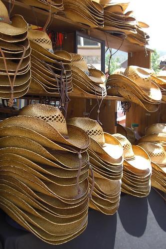 Cowboy Hats at River Run
