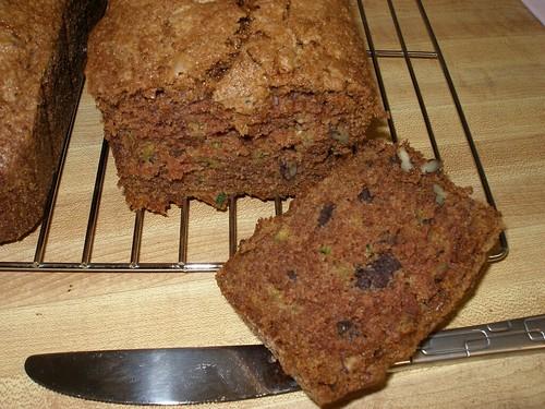 Chocolate Zucchini Bread