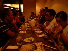 Day3-Dinner-藏居酒屋-比嘉家族人超多