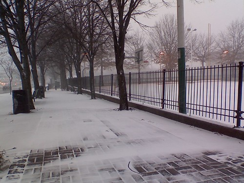 Roxbury in the snow