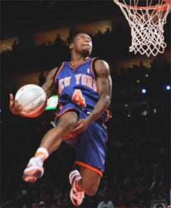Former NBA Dunk Champion Knick Guard Nate Robinson