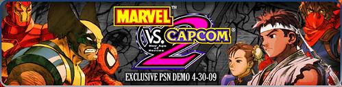 Marvel Vs. Capcom 2 Store Banner