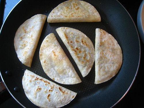 crisp black bean tacos with feta and slaw