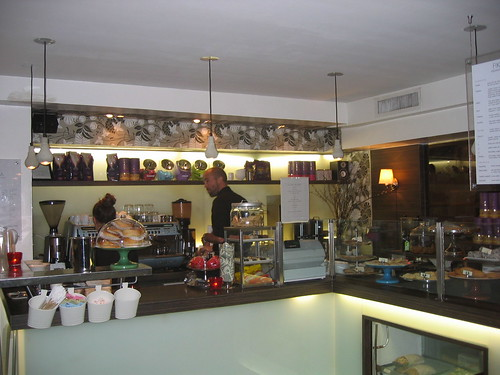 The Swedish café Fika on Manhattan
