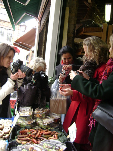 Celia Brooks Brown at Borough Market