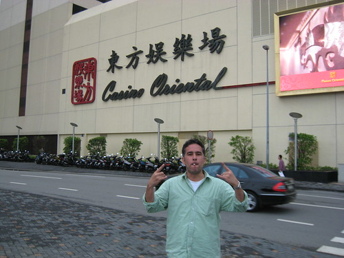 Benny in Macau.