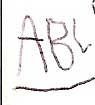 write my ABCs for Rowan