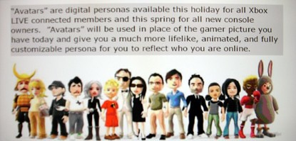 Xbox 360 Avatars coming soon? 2