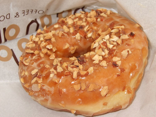 Almond Maple Premium Donut
