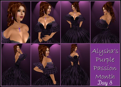 ALY'S PURPLE PASSION MONTH:  DAY 8