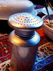 the salt shaker