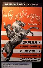 Roy Rogers - Shriner visited the CNE in1954